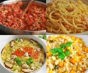 Thực đơn ăn dặm lạ miệng – Nấu siêu nhanh